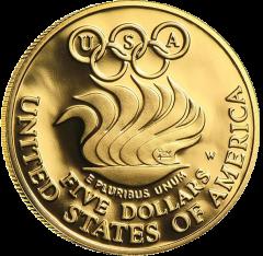 United States Mint - Gold US BU Proof $5