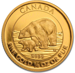 Royal Canadian Mint - Gold Polar Bear & Cub