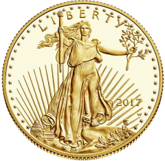 United States Mint Proof- Gold American Eagle 1/2 oz