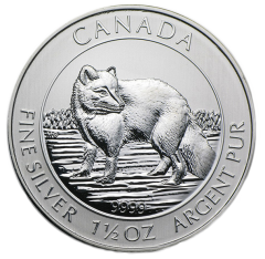 Royal Canadian Mint - Silver Arctic Fox