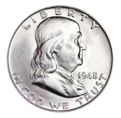United States Mint - Silver Franklin Half Dollar