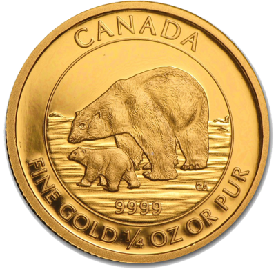 Royal Canadian Mint - Gold Polar Bear & Cub