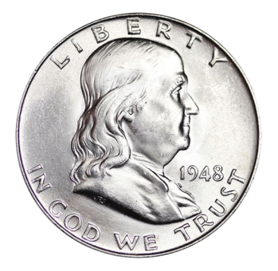 United States Mint - Silver Franklin Half Dollar