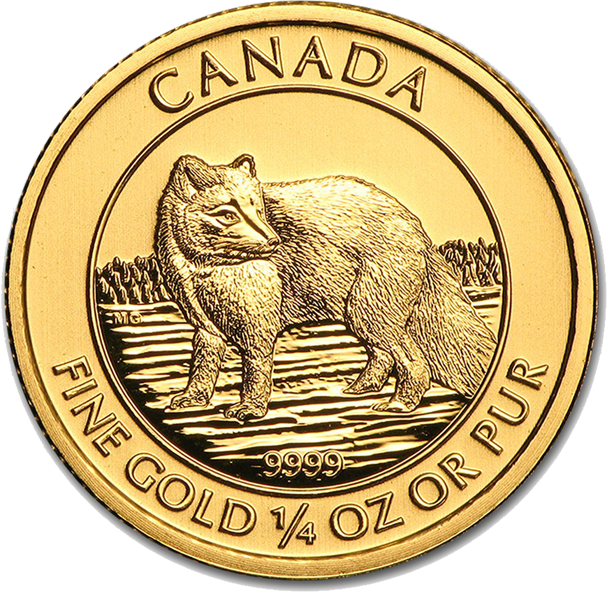 Royal Canadian Mint - Gold Arctic Fox