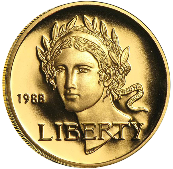 United States Mint - Gold US BU Proof $5