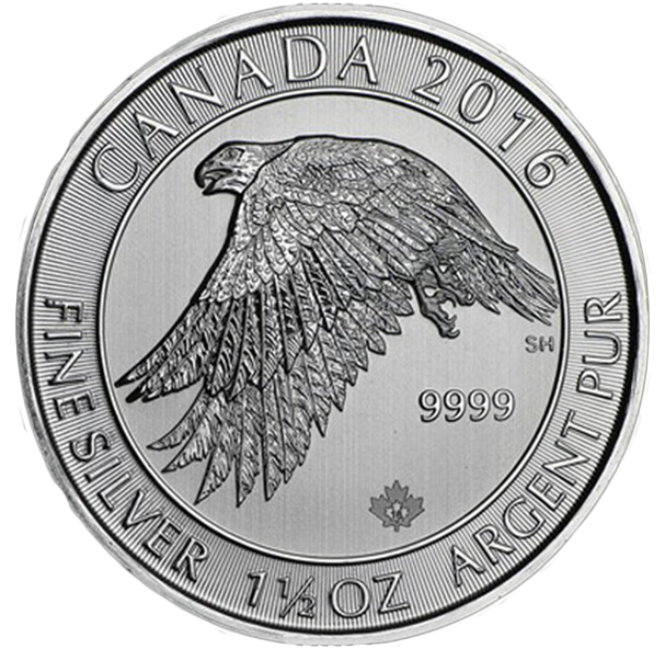 Royal Canadian Mint - Silver Gyrfalcon