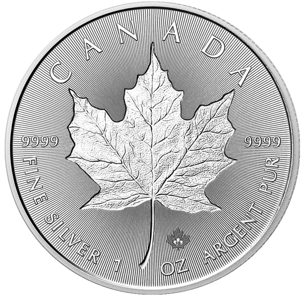 Royal Canadian Mint - Silver Maple Leaf