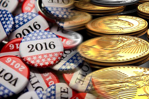 Presidential-Election&Gold